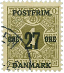 Danmark 1918 - AFA nr.85x stemplet