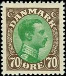 Danmark 1918 - AFA nr.108 postfrisk