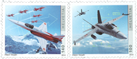 Switzerland - Air Force - Mint set 2v