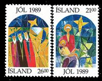 IJsland - Kerstzegels postfris