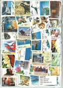 Cuba high quality 1500 different stamps - cancelled