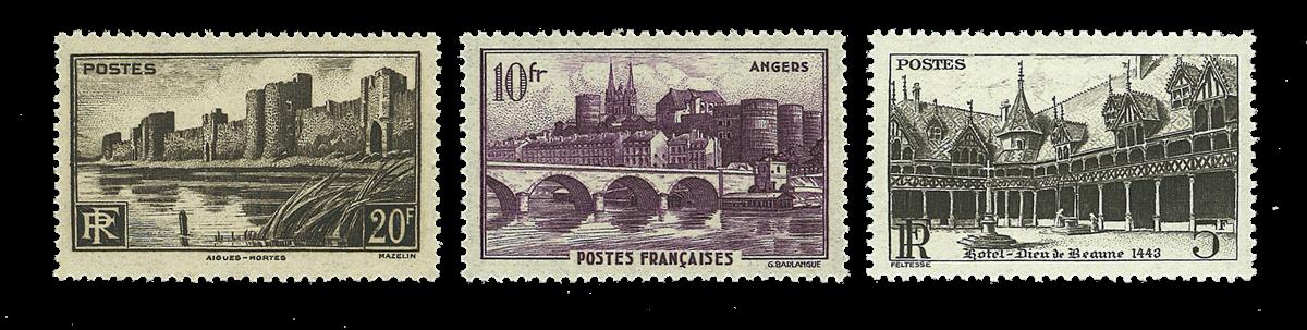 Frankrig - Monumenter YT499-501