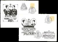 Estland - Kongelige særkuverter