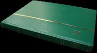 Indstiksbog - Grøn - str. A4 - 32 hvide sider - Ikke-polstret indbinding