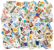 Canada 1000 different stamps