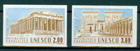 France - YT 98-99 UNESCO Universal Heritage - imperforated