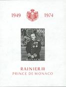 Monaco postfrisk miniark
