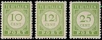 Curacao  - Nr. P31-P33 - Ongebruikt