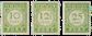 Curacao - (P31-P33, ongebruikt)