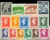 Netherlands 1944-1946 - NVPH 428-442 - Mint