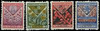 Netherlands 1927 - NVPH R78-R81 - Unused