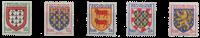 France - YT 899-903 - Mint