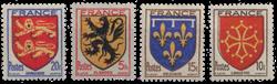 Frankrig - YT 602-05 - Postfrisk