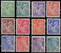 France - YT 649-60 - Mint