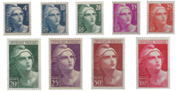 France - YT 725-33 - Mint