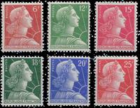 France - YT 1009A-1011C - Mint