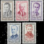France - YT 1248-52 - Mint