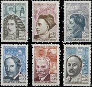 France - YT 1345-50 - Mint