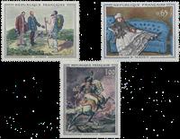 France - YT 1363-65 - Mint