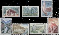 France - YT 1435-41 - Mint