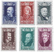 France - YT 1590-95 - Mint