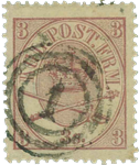 Danmark 1864 - AFA nr. 12 - stemplet