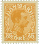 Danmark 1913 - AFA nr. 73 - ubrugt