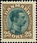 Danmark 1918 - AFA nr. 101 - postfrisk