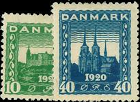 Danmark 1921 - AFA nr. 115-16 - ubrugt