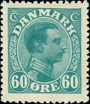Danmark 1921-22 - AFA nr. 130 - postfrisk