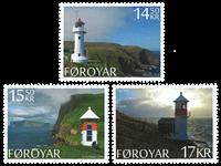 Faroe Islands - Lighthouses - Mint set 3v
