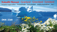Grønland - Frimærkehæfte nr. 1