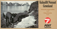 Greenland - Stamp booklet no.  8 - Heritage and Culture