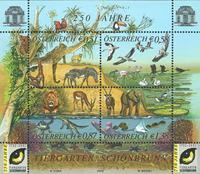 Tiergarten - Postfrisk miniark