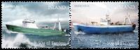 Iceland - Trawlers - Mint set 2v