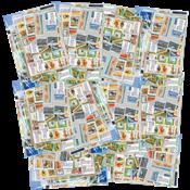 Tidligere sovjetrepublikker - 10 frimærkesamlinger