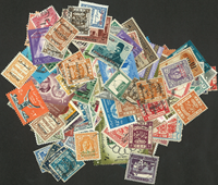 Palestine 150 different stamps