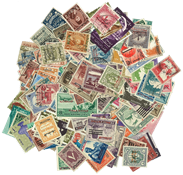 Palestine 200 different stamps