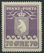 Greenland - Parcel stamp - AFA no. 10