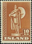 Island 1948 viking postfrisk