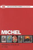 Michel frimærkekatalog - Vestafrika II 13 H-Z