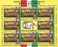 Sweden - FIFA World Cup 1990 - Souvenir sheet 90 M/S