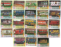 Complete set w. 24  World Cup stamps from 1994