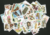 Reptiles - 250 stamps