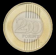 Mønt Budapest kædebro 200 forint