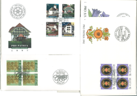 Switzerland etc. - FDC duplicate lot