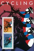 USA cykling - postfrisk miniark