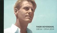 Norway - Thor Heyerdahl - Mint prestige booklet