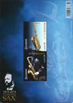 Belgien - Saxofon - Postfrisk miniark