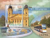 Hungary - Stamp day 2014 - Mint souvenir sheet